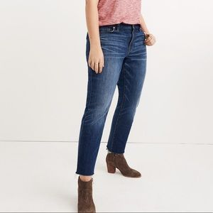 Madewell The Slim Boyjean: Raw Hem Edition